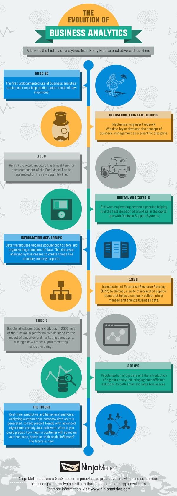 Business Analytics Infographic