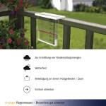 Modern Analogue rain gauge 47.1014