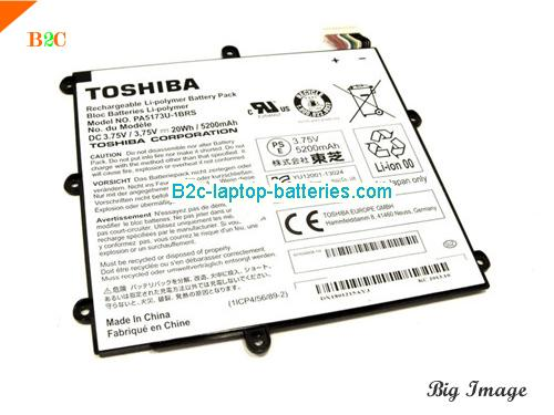 Genuine Toshiba PA5173U-1BRS Battery PA5173U1BRS, Li-ion