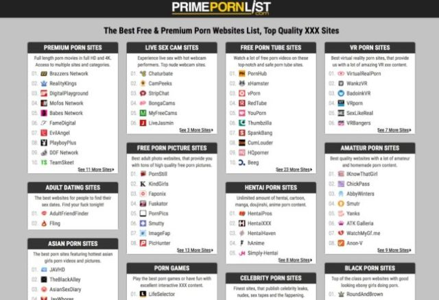 You Might Have Noticed From The Number Of Sites Listed In This Category On Primepornlist Com That Quality Comes Before Quantity