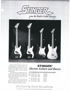 1993 Stinger Advertisement