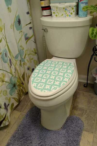 Contact Papering My Toilet Lid