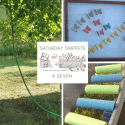 Saturday Snippets #7