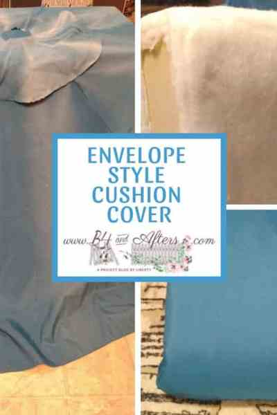 Sewing a Cushion Cover- Envelope Style