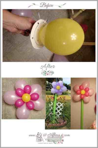 Easy Flower Balloons