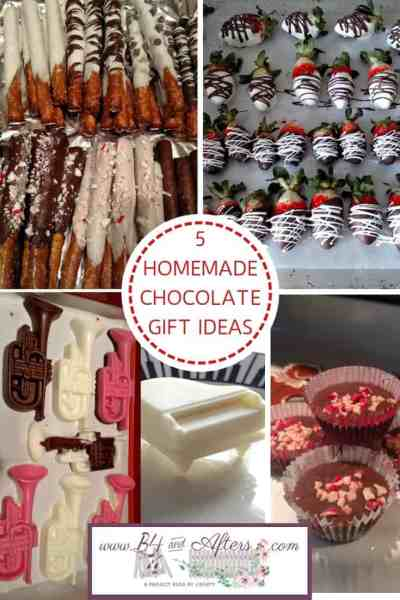 Five Homemade Chocolate Gift Ideas