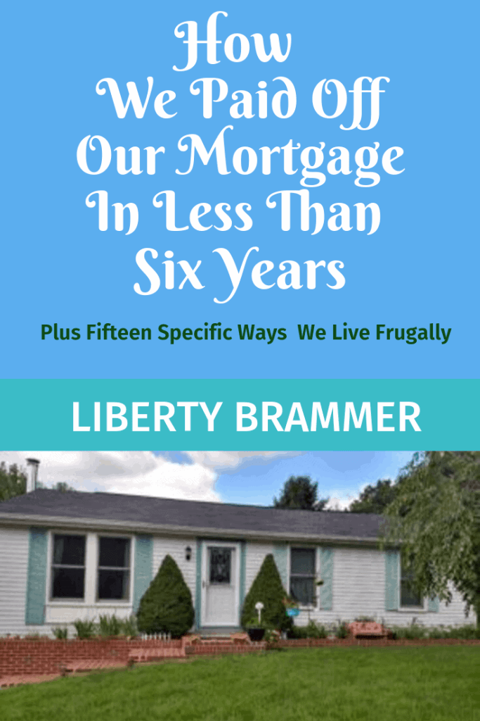 "Kindle Ebook cover, ""How We Paid Off Our Mortgage in Less Than Six Years"""