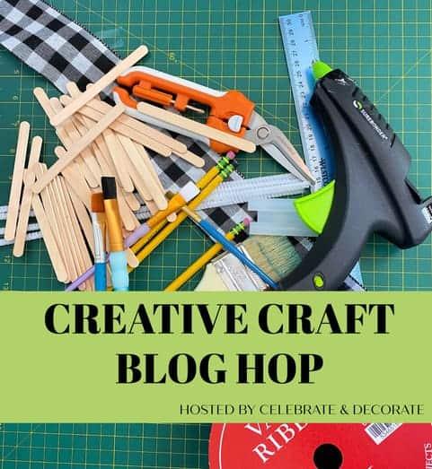 creative craft blog hop graphic
