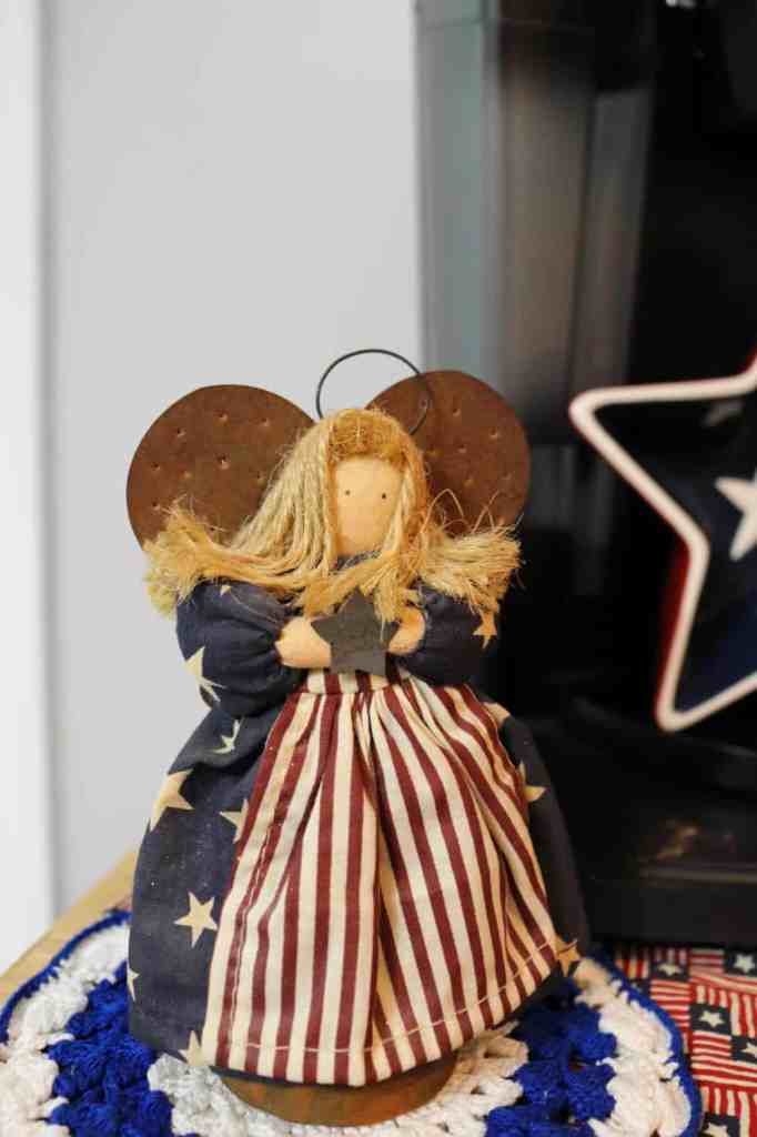 rustic Americana angel