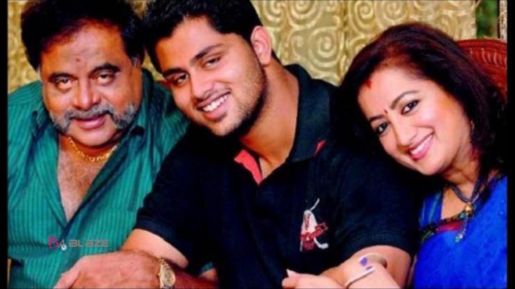 Ambareesh with her Family