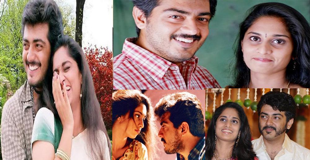 Ajith and Shalini love story