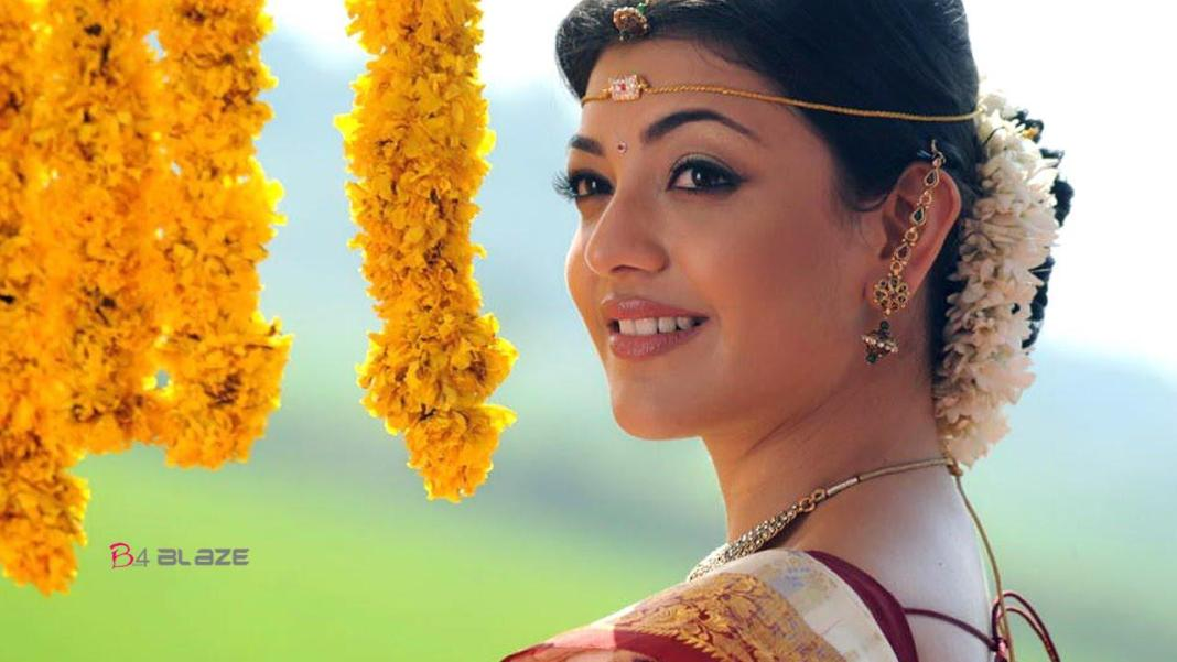 kajal aggarwal in bridal look