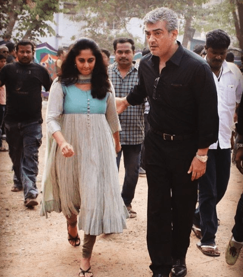 Ajith Kumar and Shalini