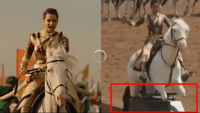 Kangana Ranaut video of riding an electric horse for 'Manikarnika' goes viral