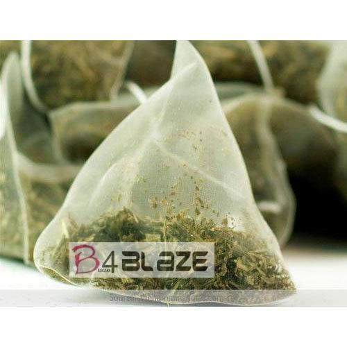 Green tea bag