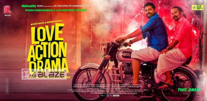 Nivin Pauly and Aju Varghese in Love Action Drama