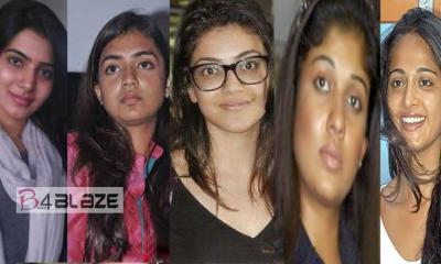 Shocking Photos of Kollywood Actresses without Makeup