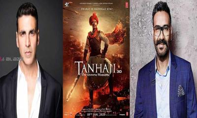 Akshay Kumar took to social media to congratulate Ajay Devgn for Tanhaji !