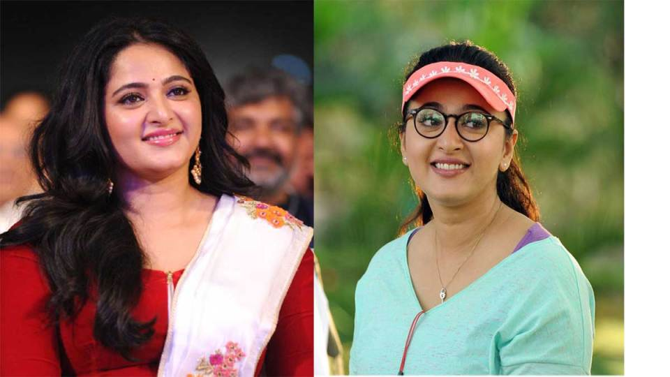 Anushka shetty's new make over