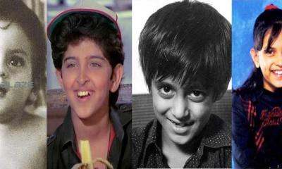childhood pics of Bollywood actors