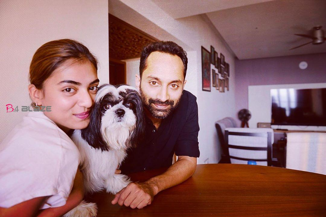 Fahadh and Nazriya with Orio