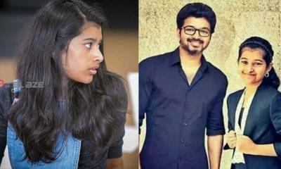 Vijay's Daughter Divya Shasha's Unseen Photo went Viral!
