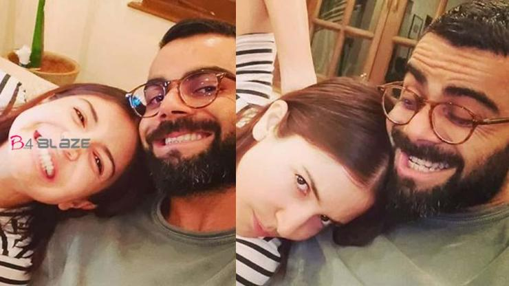 During 'Lockdown', Virat Kohli shared a photo with Anushka Sharma and wrote, 'Our laughter may be fake, but we won't'