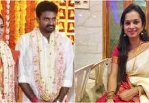 Director Vijay and wife Aishwarya