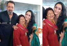 Sanjay Dutt got emotional after remembering Saroj Khan, expressed sadness by sharing photo of choreographer with wife Manyata