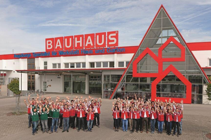 Das Ist Die Neue Bauhaus Filiale In Augsburg Foto Bauhaus