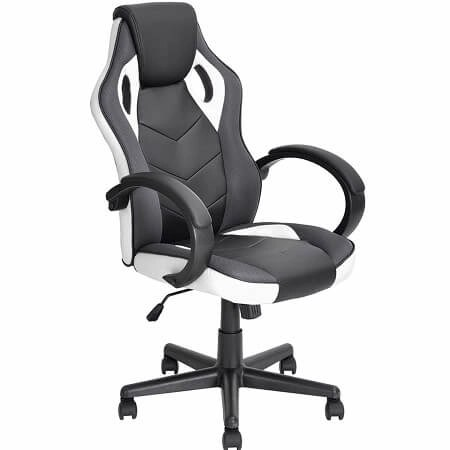 Coavas Computer Game Chair Gaming Racing Chair PU Leather High Back Office Desk Chair