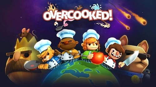 Overcooked video kids game