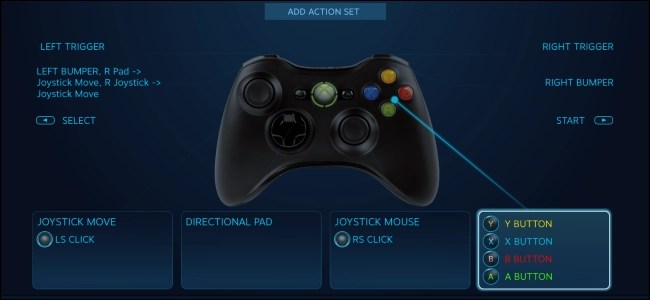Remap PS4 and Xbox Controller Buttons