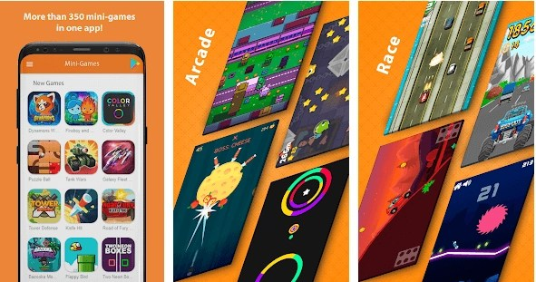 Mini-Games: New Arcade