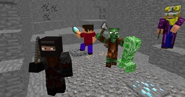 Minecraft - number 1 multiplayer player Xbox One game