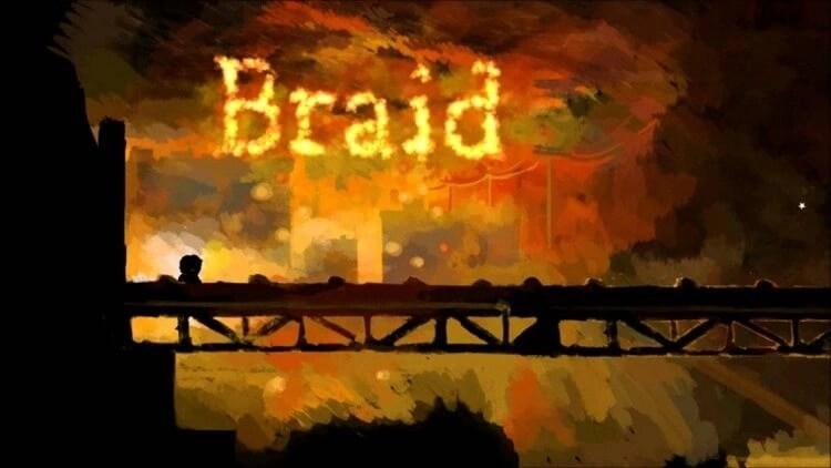 Braid puzzle video game