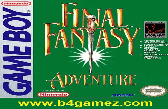 Final Fantasy Adventure game review - b4gamez