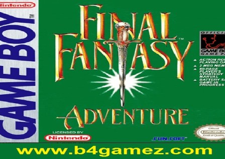 Final Fantasy Adventure Cover