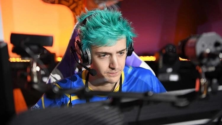 Ninja one of the Top 10 Fortnite Players in the World