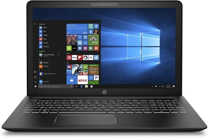 "HP Onyx Blizzard 5 15.6"" Gaming Laptops"