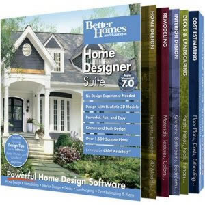 Better Homes And Gardens Home Designer Suite 6 By Chief Architect