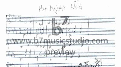 Her Majesty's Waltz - Manuscript Preview