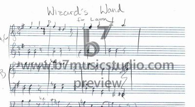 Wizard's Wand - Manuscript Preview