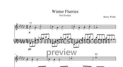 Winter Flurries - Full Score Preview