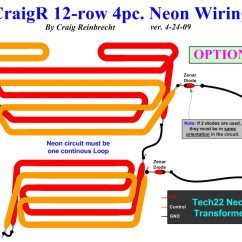 Transformers Wiring Diagrams Radio Diagram The B9 Robot Builders Club Neon Option A