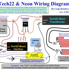 Transformers Wiring Diagrams Double Outlet Diagram The B9 Robot Builders Club Tech22 Neon