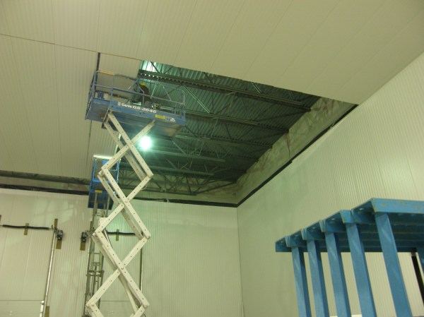 Walk On Ceiling Panel System