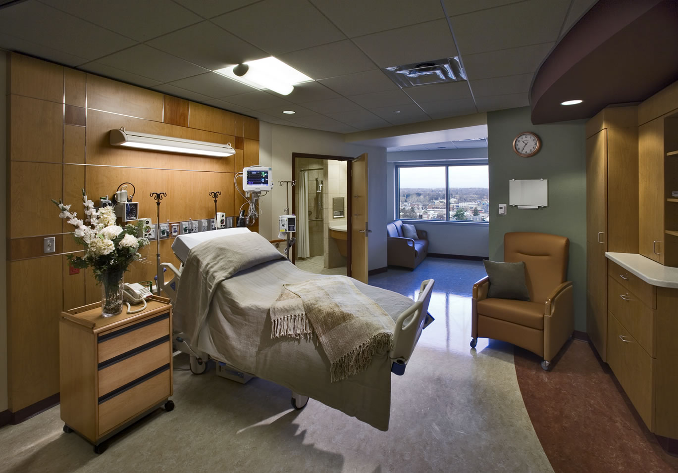 Lancaster General Hospital  7th  8th Floor FitOut