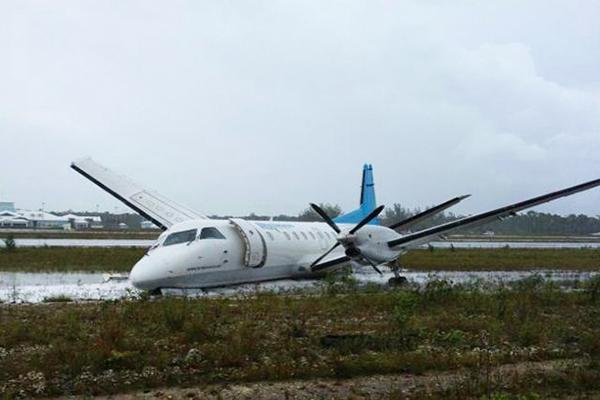 Crash Of A Saab 340 In Marsh Harbour Bureau Of Aircraft