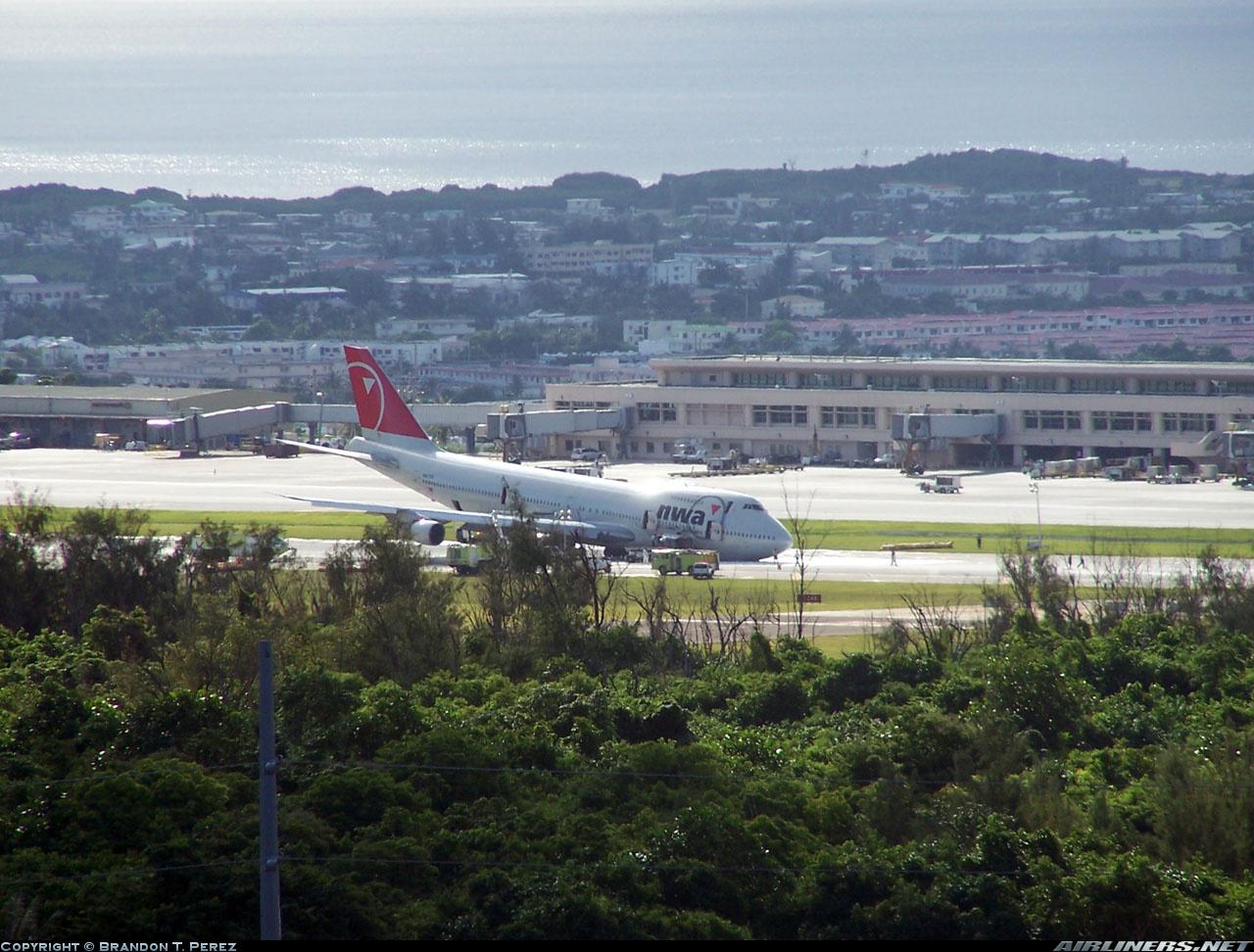 Crash Of A Boeing 747 200 In Agana Bureau Of Aircraft